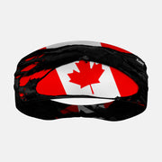 Canada Flag Ripped Headband