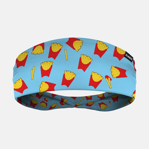 French Fries Pattern Headband