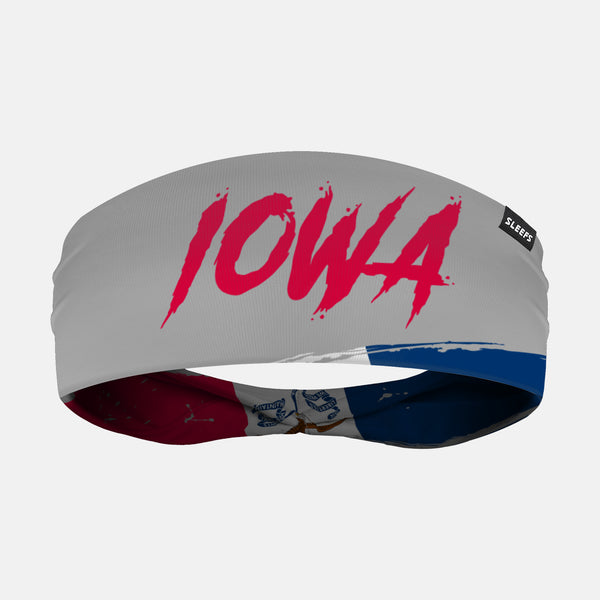 Iowa State Spell Out Doublesided Headband