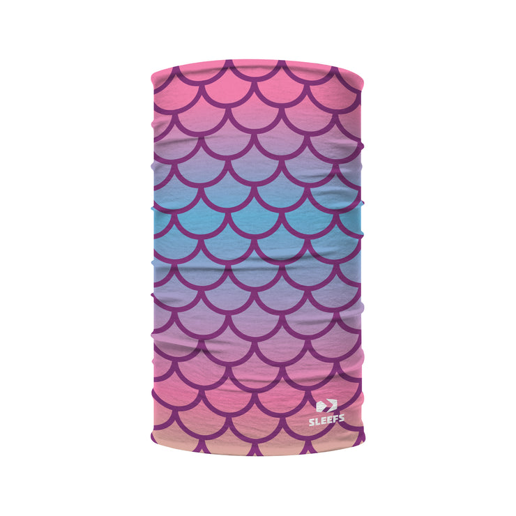 Mermaid Scales Kids Neck Gaiter
