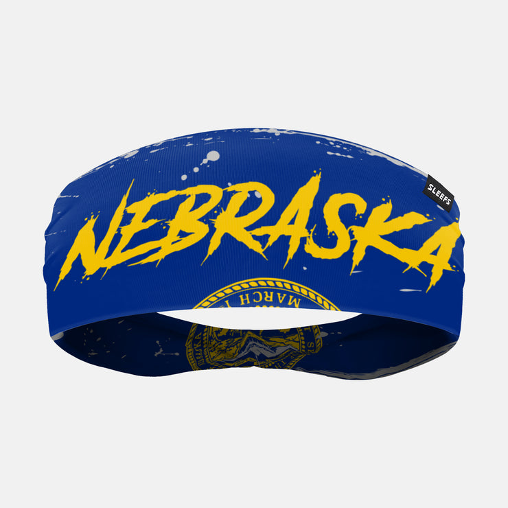 Nebraska State Flag Headband