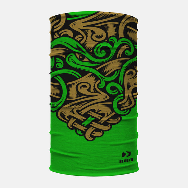 Irish Shamrocks Neck Gaiter