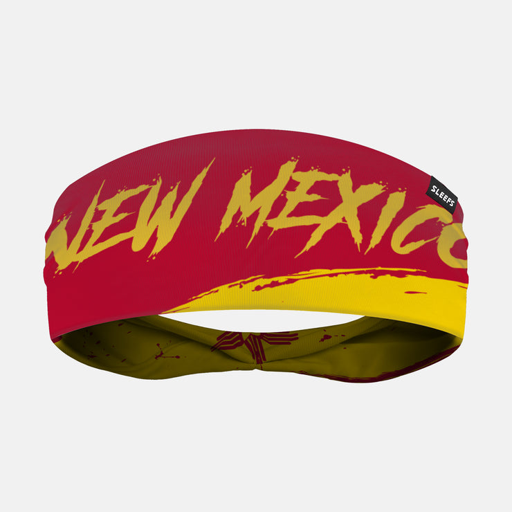 New Mexico State Spell Out Doublesided Headband