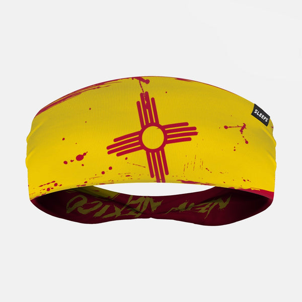 New Mexico State Letters Doublesided Headband