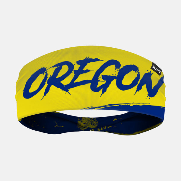 Oregon State Spell Out Doublesided Headband