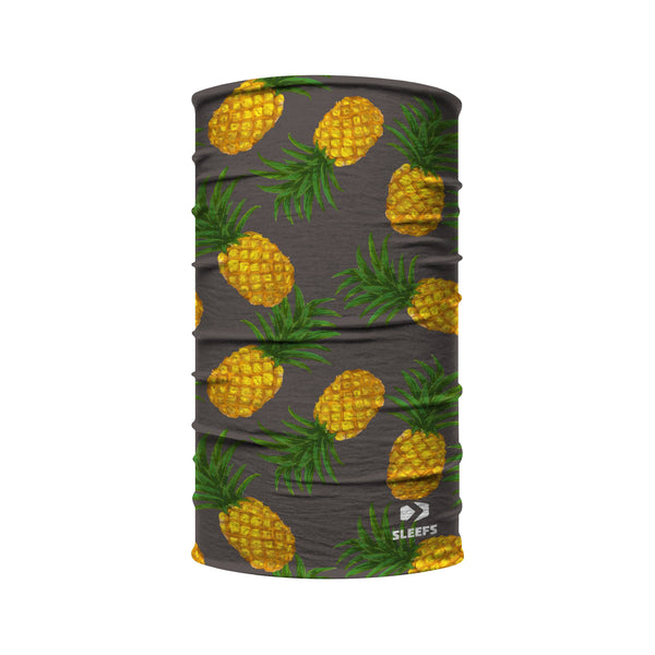 Pineapple Tropical Kids Neck Gaiter