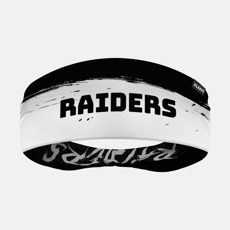 Raiders Doublesided Headband
