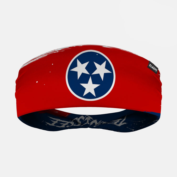 Tennessee State Flag Doublesided Headband