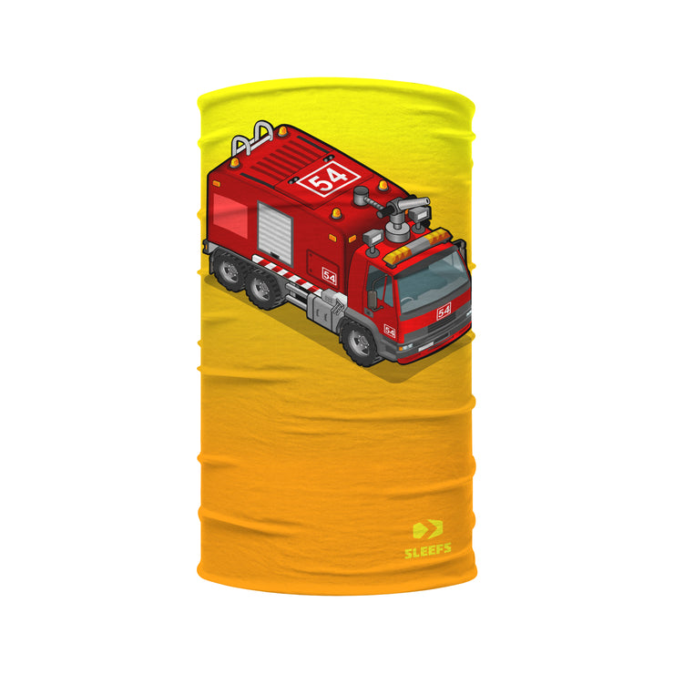 Toy Firetruck Kids Neck Gaiter