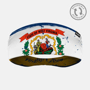 West Virginia State Flag Doublesided Headband