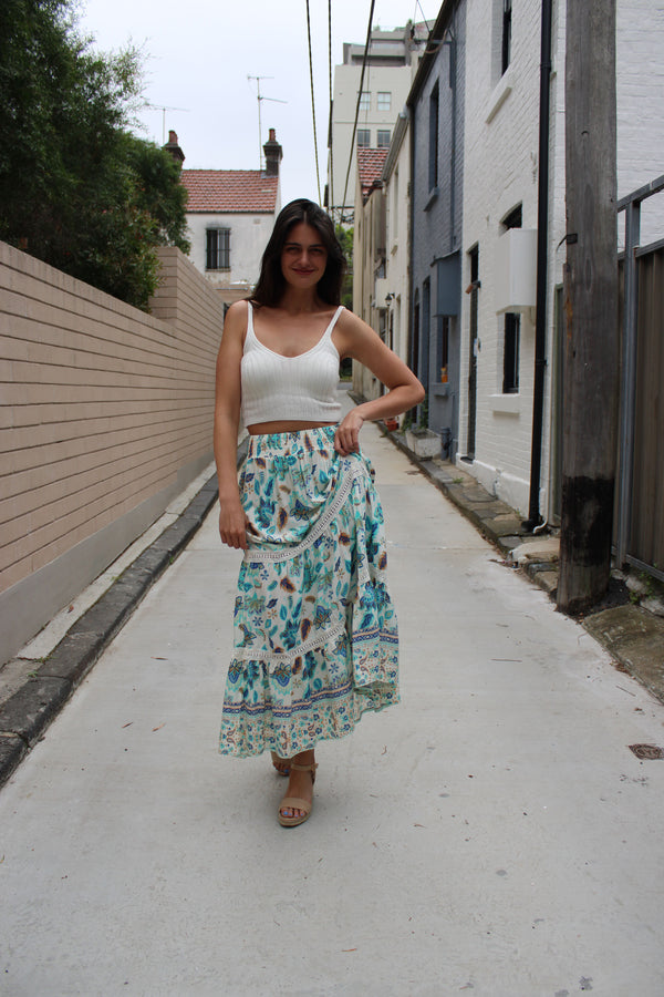 Valley Maxi Skirt
