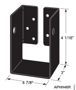 Outdoor Accents Concealed-Flange Heavy Joist Hanger - The Woodshed