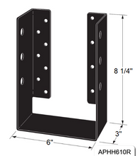 Load image into Gallery viewer, Outdoor Accents Concealed-Flange Heavy Joist Hanger - The Woodshed