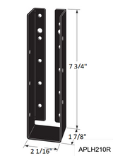 Load image into Gallery viewer, Outdoor Accents Concealed-Flange Light Joist Hanger - Order Simpson