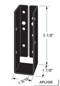 Outdoor Accents Concealed-Flange Light Joist Hanger - Order Simpson