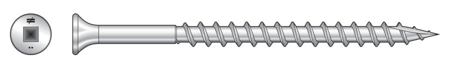 Bugle-Head Wood Screw (Collated) - The Woodshed