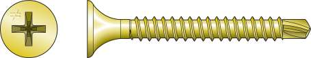 DRYWALL-TO-CFS Screw (Collated) - Order Simpson