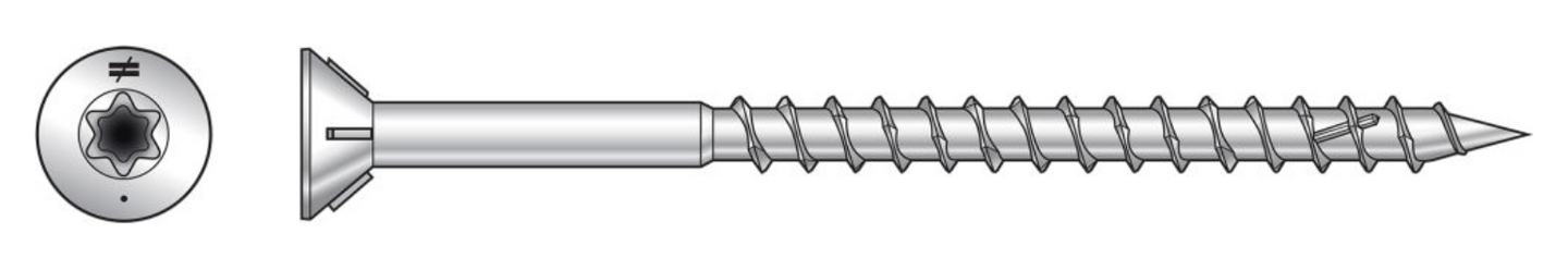 Deck-Drive DWP WOOD Stainless Steel Screw - The Woodshed