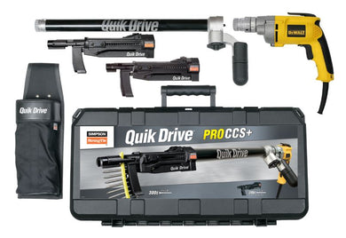 Quik Drive® PROCCS+ Multi-Purpose Combo System - The Woodshed