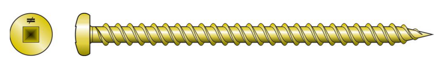Wood Screw (Collated) - Order Simpson