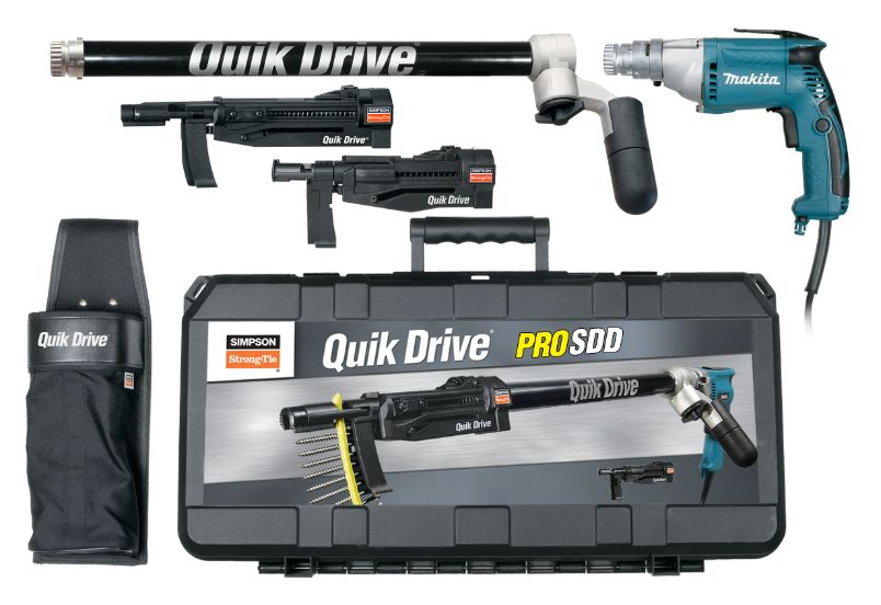 Quik Drive® PROSDD Multi-Purpose Combo System - The Woodshed