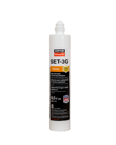 SET-3G™ High-Strength Epoxy Adhesive - Order Simpson