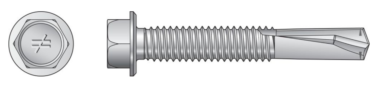 Strong-Drive® Self-Drilling X Metal Screw (Collated) - The Woodshed