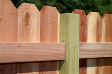 Load image into Gallery viewer, Fence Rail Brackets - The Woodshed