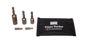 Titen Turbo™ Installation Tool Kit - The Woodshed