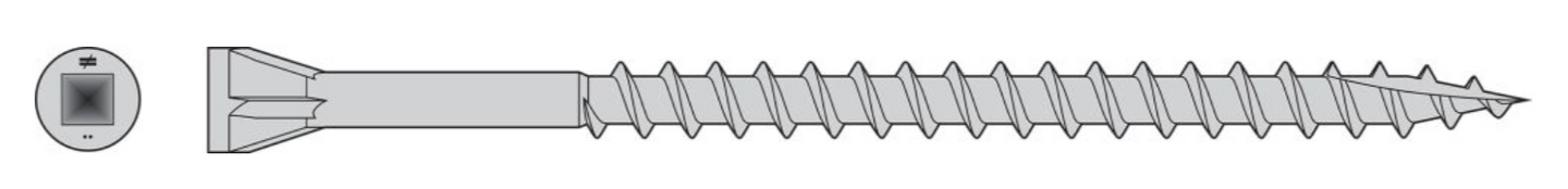 Trim-Head Screw — Type-17 Point (Collated) - Order Simpson