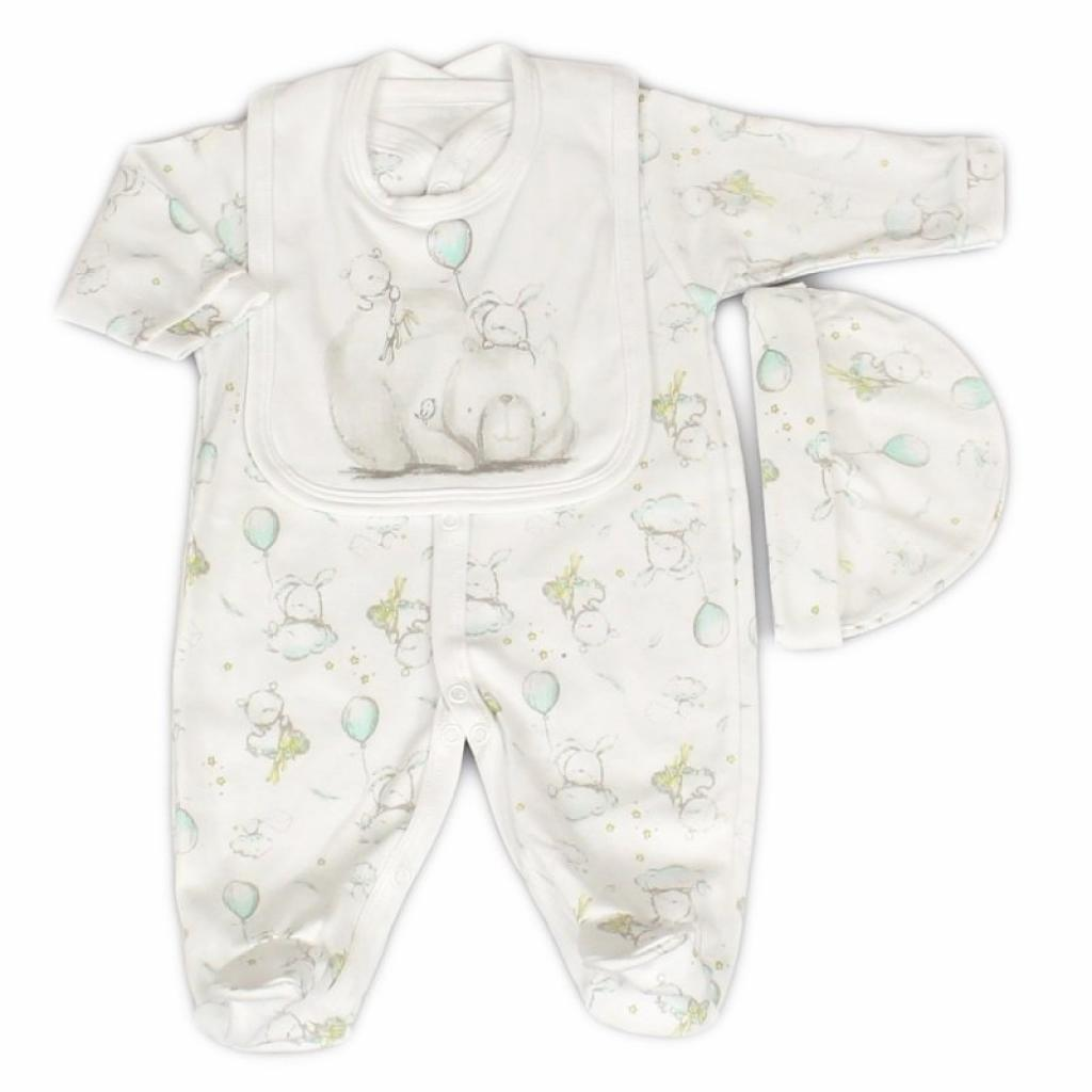 Baby Layette Set - Bear & Bunny Design - Strelitzia's Floristry & Irish Craft Shop