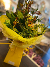 Load image into Gallery viewer, Wild Yellow Fresh Flower Bouquet - Strelitzia's Floristry & Irish Craft Shop