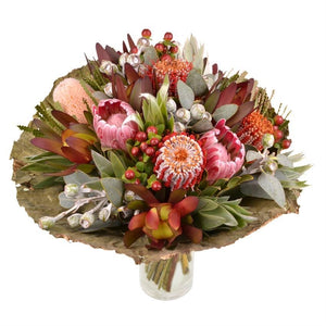 Exotic Dawn - Protea Flower Bouquet - Strelitzia's Floristry & Irish Craft Shop