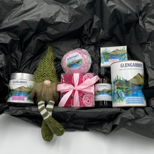 """Bathroom Bliss"" - Festive Gift Box (2 Styles) - Strelitzia's Floristry & Irish Craft Shop"