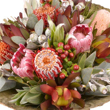 Load image into Gallery viewer, Exotic Dawn - Protea Flower Bouquet - Strelitzia's Floristry & Irish Craft Shop