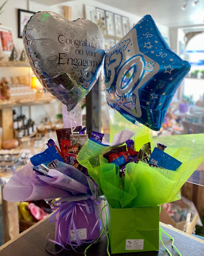 Chocolate or Candy Bouquet - Strelitzia's Floristry & Irish Craft Shop