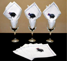 Load image into Gallery viewer, Pheasant Napkins (Set of 4) - Strelitzia's Floristry & Irish Craft Shop