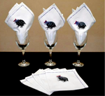 Pheasant Napkins (Set of 4) - Strelitzia's Floristry & Irish Craft Shop