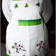 Load image into Gallery viewer, Irish Cow Apron Hand Painted - Strelitzia's Floristry & Irish Craft Shop