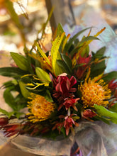 Load image into Gallery viewer, Tropical Sun Burst Fresh Flower Bouquets - Strelitzia's Floristry & Irish Craft Shop