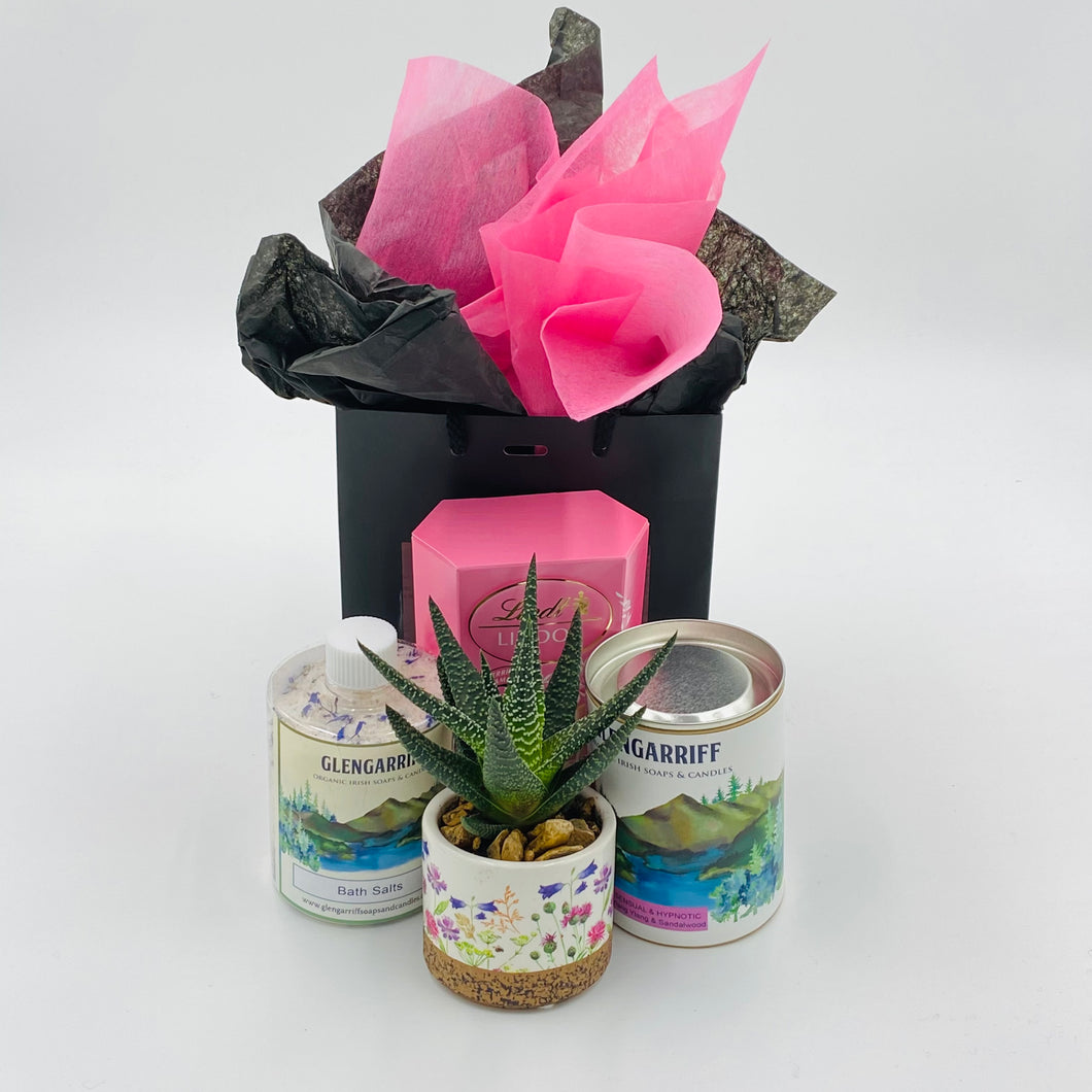 Sweet Sensations (Glengariff) - Gift Box - Strelitzia's Floristry & Irish Craft Shop