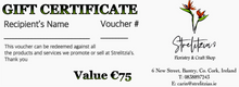 Load image into Gallery viewer, Gift Vouchers - Strelitzia's Floristry & Irish Craft Shop