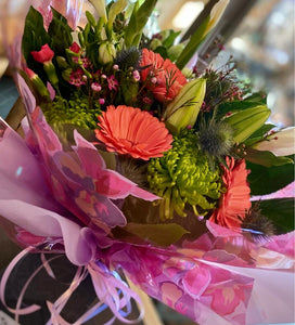 Spring Garden - Fresh Flower Bouquet - Strelitzia's Floristry & Irish Craft Shop