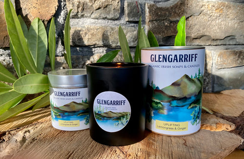 Glengarriff Organic Soy Candle - Uplifting - Strelitzia's Floristry & Irish Craft Shop