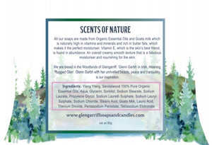Glengarriff Goats Milk Soap - SENSUAL & HYPNOTIC - Strelitzia's Floristry & Irish Craft Shop
