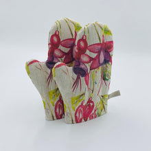 Load image into Gallery viewer, Fuchsia (Style 1) Hand Painted Apron and Oven Gloves - Strelitzia's Floristry & Irish Craft Shop