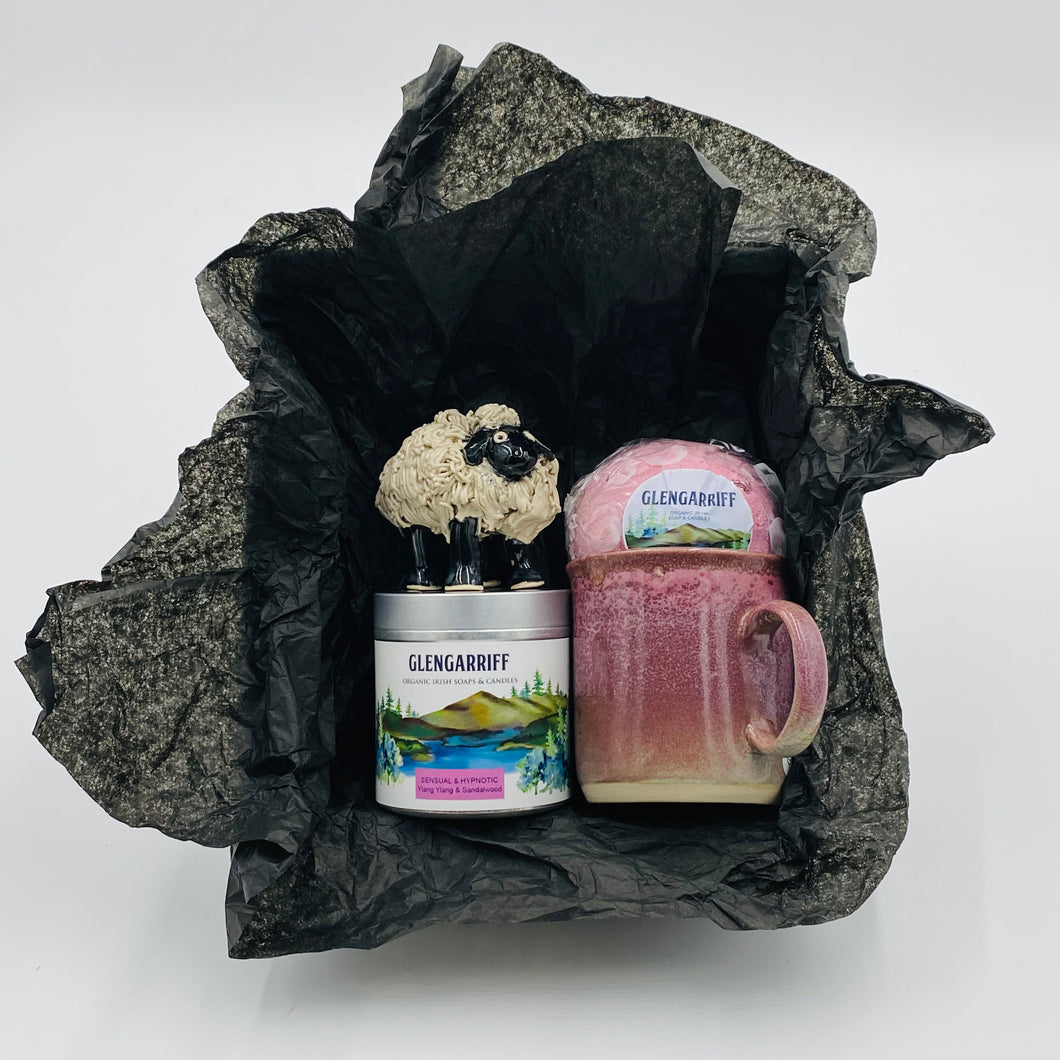 Relax and Unwind - Gift Box - Strelitzia's Floristry & Irish Craft Shop