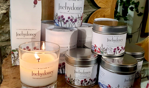 Inchydoney Travel Tin Candle - Strelitzia's Floristry & Irish Craft Shop