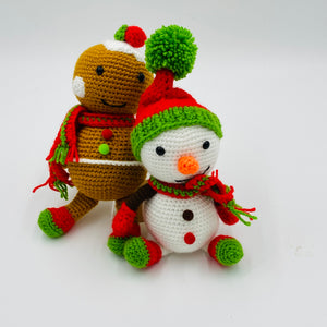 Hand-Knitted Christmas Pudding - Strelitzia's Floristry & Irish Craft Shop