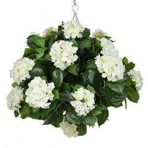 Hydrangea Ball Hanging Baskets 50cm - Strelitzia's Floristry & Irish Craft Shop
